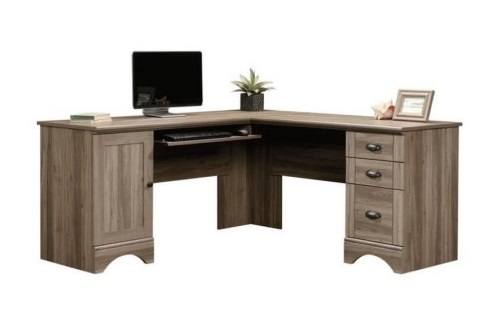 Sauder 417586 Harbor View Corner Computer Desk A2