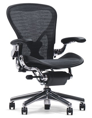 Herman Miller Classic Aeron Task Chair: Highly Adj w/PostureFit Support
