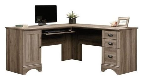 Sauder 417586 Harbor View Corner Computer Desk
