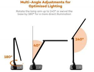 TaoTronics LED Dimmable Desk Lamp Multi-angle