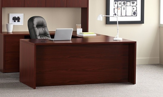 basyx by hon bl laminate series office desk review