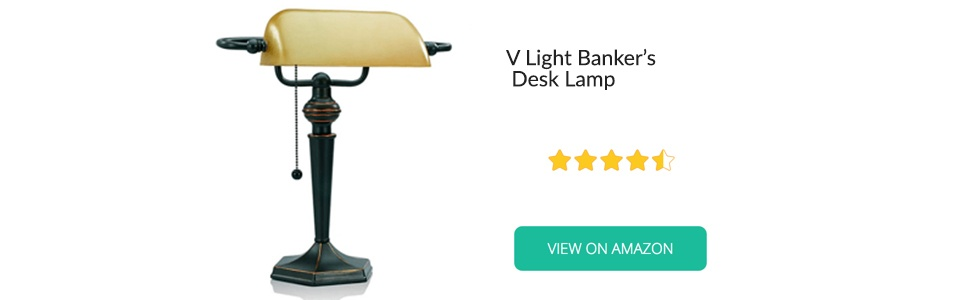 V Light Banker's Desk Lamp